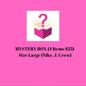 4/$25 MYSTERY BOX